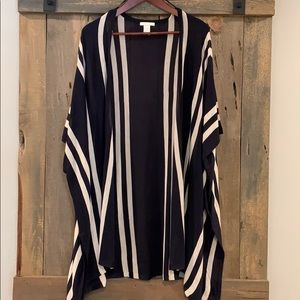 H&M open cardigan size XS